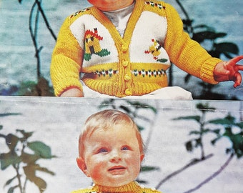 LISTER 1310 Vintage Knitting Baby Pattern