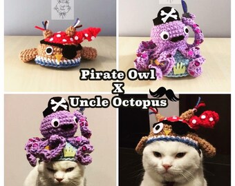 Uncle Octopus & Pirate Owl