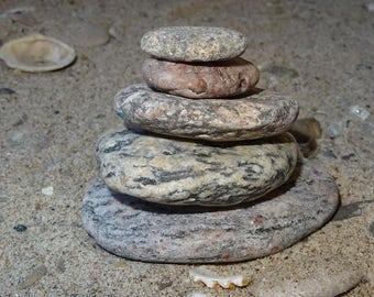 Zen Stones, Meditation Stones, Cairn stones, Balancing Stones, Beach Stones, Garden Stones