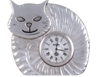 Fat cat clock- Hand Made and Design in UK