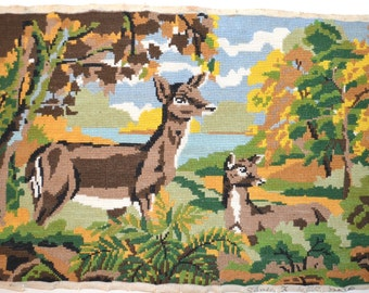 Tapestry biches, canvas, tapestry, crosstitch and embroidery