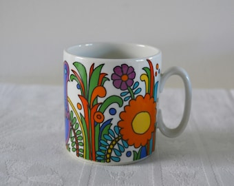 Mug Acapulco villeroy and Boch, vintage, China, china