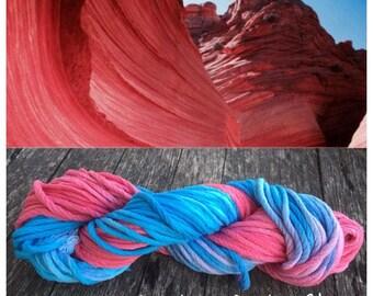 Canyon hand-dyed cotton yarn
