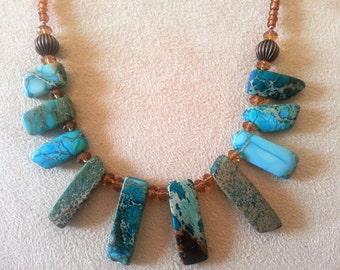Underwater Rocks Necklace