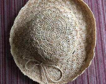 Gardener Hat,Sun Hat,Straw Hat,Shade Hat,Wide Hat,Raffia Hat,Resort Hat,Garden Hat,Natural Sun Hat,Woven Straw Hat,Summer Hat,Gardening Hat