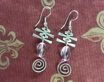 Handmade Shiny Earrings