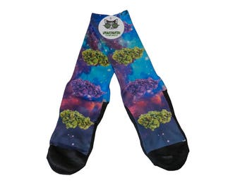 Bud Galaxy Socks