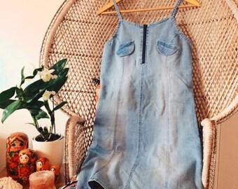 Original 70's Denim Dress