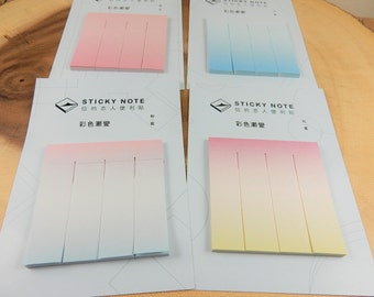 Pastel Sticky Notes, Stationery, Post It Notes, Pastel Tones, Memo Pads