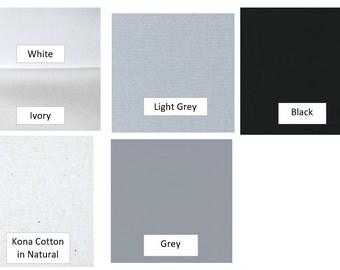 SOLIDS/NEUTRALS - Fabric Options for Your Applique