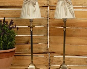 Lampshade, Ribbon Lampshade, French Lampshade, Shabby chic Lamp, Handmade, Vintage Style Lampshade