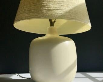 Large white Bostlund lamp all original***FREE SHIPPING***