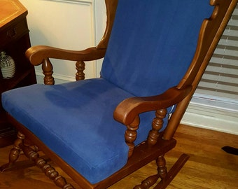 Oak Early 1970's Rocking Chair