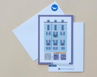 Milan Icons Greeting Cards-Ripa di Porta Ticinese-Navigli-Milan