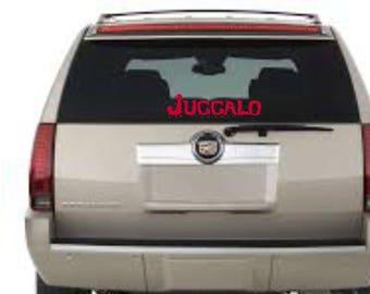 """Juggalo 12"""" vinyl decal"""