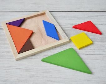 Wooden educational puzzle, Children toys, Wooden Puzzle cubes,  Еducation toys, Wooden toys,  Puzzle for Children