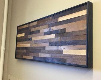 Barnwood wall art reclaimed wood wall art wood wall art rustic wall art