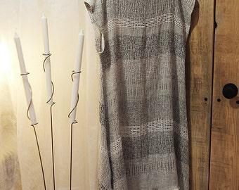 LINEN DRESS - Women's clothing, Women Loose fitting, O2