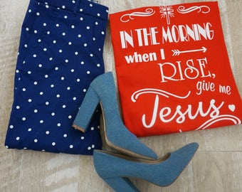 Give Me Jesus, Tee