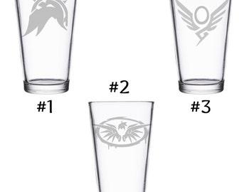 Mercy Overwatch Pint Glass