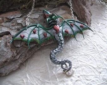 Valentine's day Silver Dragon