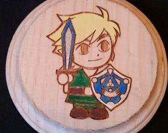 Legend of Zelda (Link) Wooden Wall Hanger