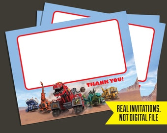 Dinotrux Thank You Cards - Thank You