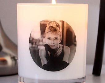 Audrey Hepburn 'Icon Collection' Soy Candle - LARGE