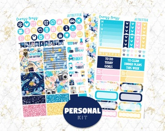 Jetsetter Personal Kit | 104 Stickers