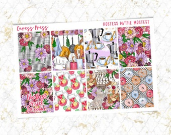 Hostess with the Mostest Full Boxes | 8 Stickers