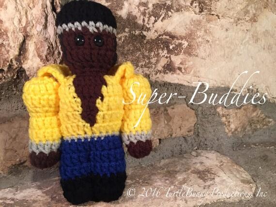 Luke Cage (Power Man) Superhero Inspired Nerd Crochet
