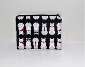 Cat Coin Purse Black Cat Coin Purse White Cat Coin Purse Cat Make Up Bag Black Cat Makeup Bag Cat Lovers Gift Black White Cat Purse