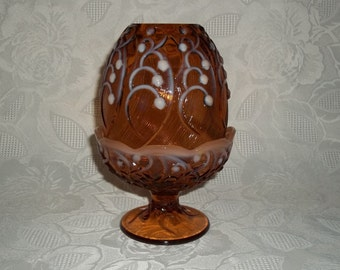 Unique Fenton Glass Lamp Related Items Etsy