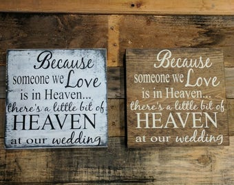 Heaven in Our Wedding