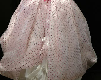 Pretty in Pink Polka Dots Skirt