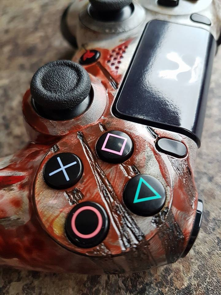 custom jason voorhees friday the 13th ps4 controller