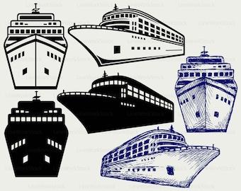 Cruise clip art – Etsy