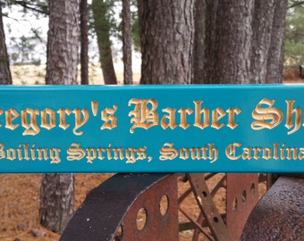 Barber Gift- Barbershop Decor- Barbershop Sign- Barbershop Wall Art