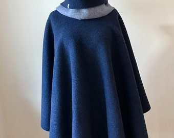 Walkloden Double Face Turn poncho