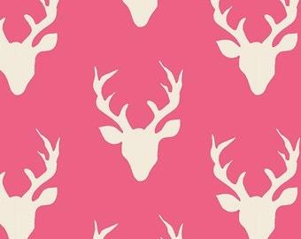 HELLO, BEAR - Buck Forest Camellia  - by Bonnie Christine for Art Gallery Fabrics HBR 4434 8