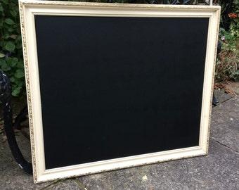 cream gold chalkboard menu vintage chalkboard wedding messages