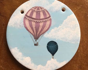 Hot air balloon Ceramic wall tile