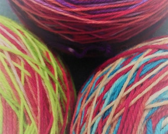Ball winding service - addon to yarn purchase