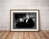 Uncle Fester & Lurch Poster