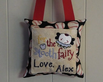 Personalized Tooth Fairy Pillow-Boy