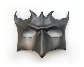Metallic Leather mask