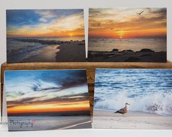 Cape May, NJ - Notecard Set - 4 blank 4 x 5 1/2 notecards and envelopes
