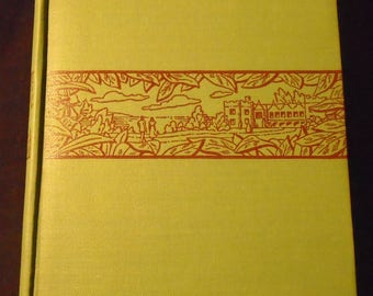 Rebecca by Daphne Du Maurier Vintage 1941 Vintage Literary Fiction Country Life Press Classic Romance 1940s