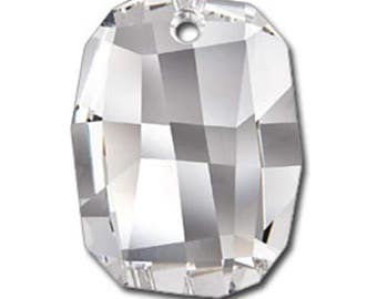 Swarovski Crystal Beads 6685 19MM Graphic Pendant 1 Pc - Several Colors Available