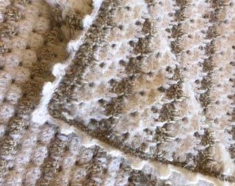 Angel Hair Crocheted Quilt